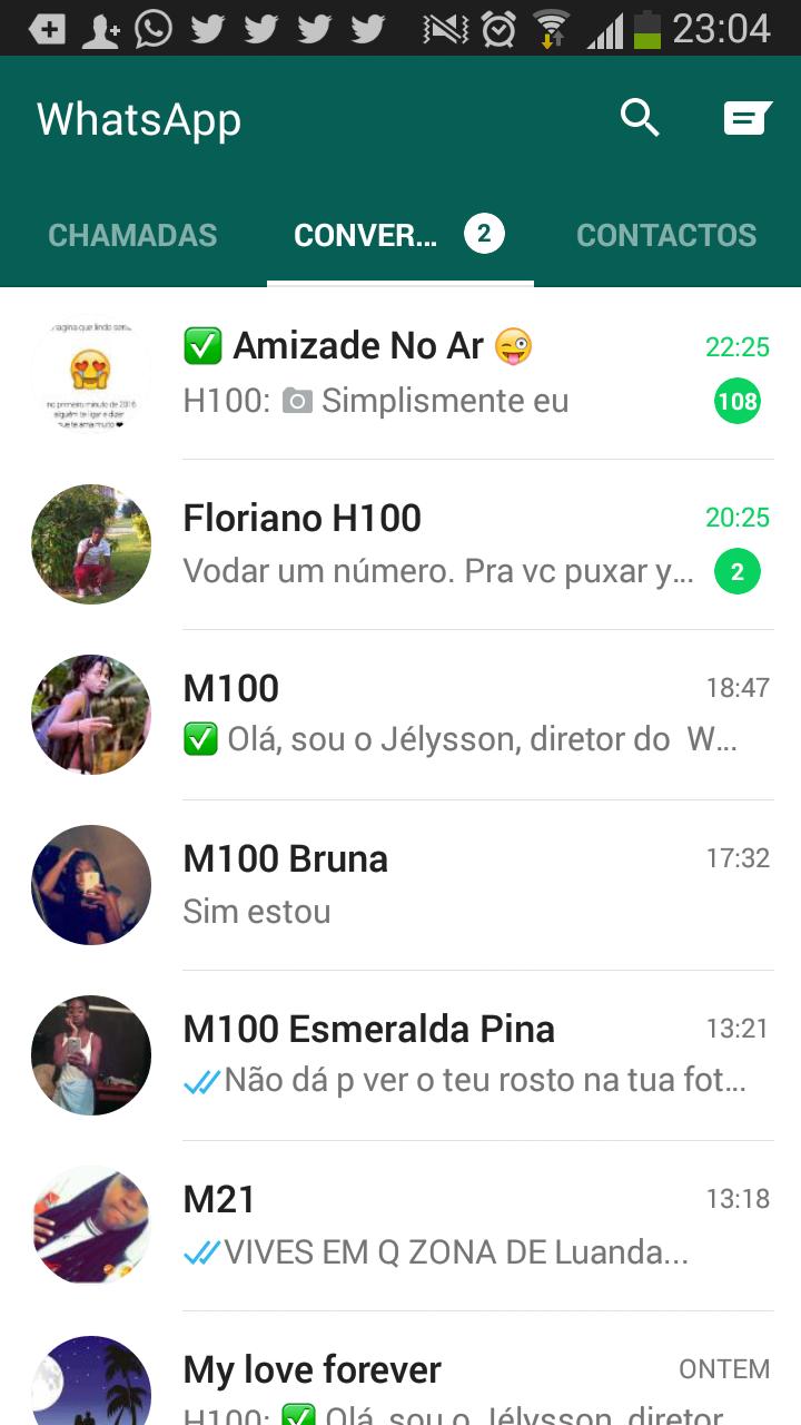 grupo de amizade whatsapp