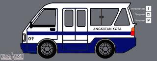 Trayek dan Info Angkot 09 di Tasikmalaya | Kisatasik