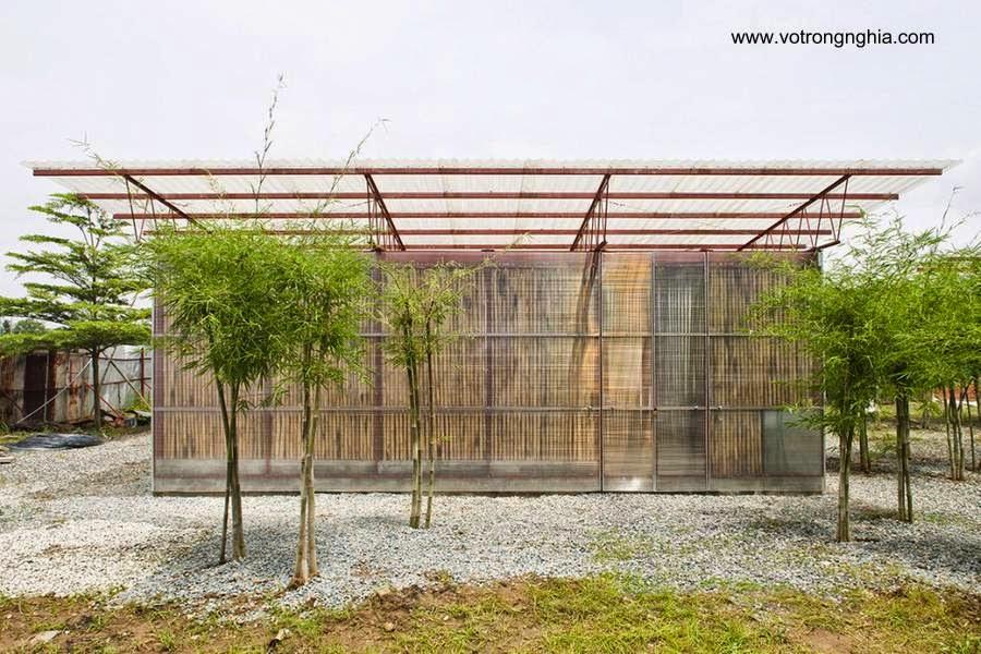 Modelo de un proyecto para hacer viviendas de muy bajo costo en Vietnam