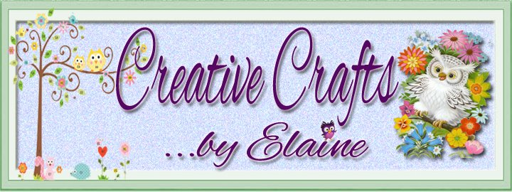 Creative Crafts by Elaine