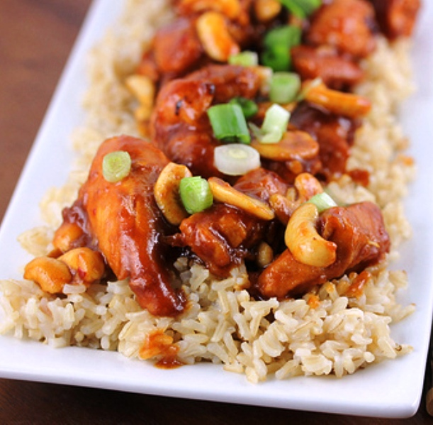 The Bestest Recipes Online: Slow Cooker Chicken with Cashews