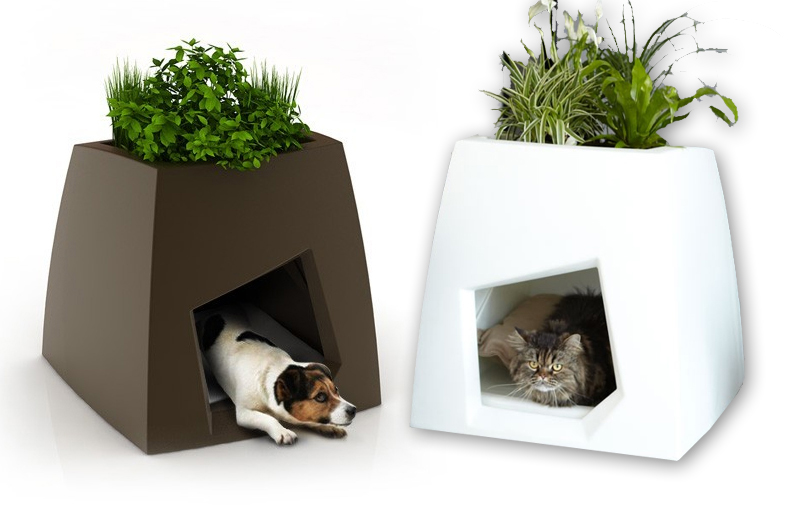 How About A Green House For Your Dog or Cat? Modern Indoor Kennels ...