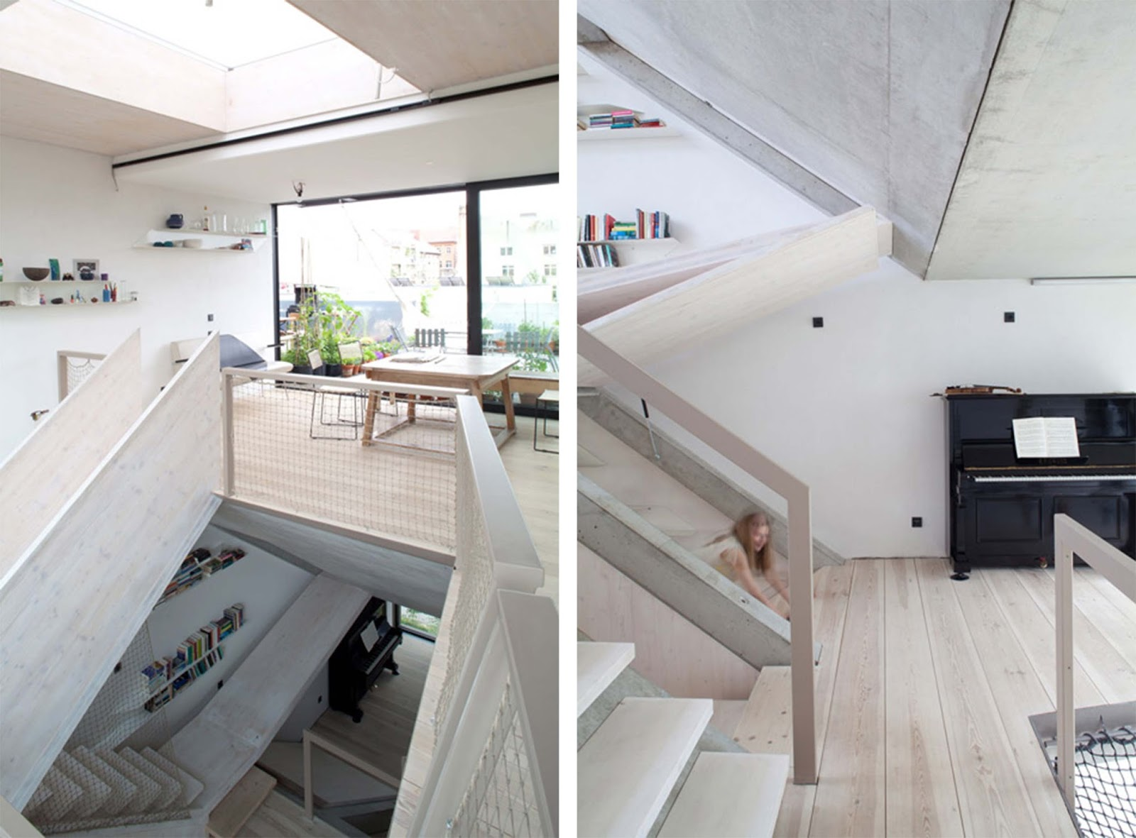 Townhouse b 14 di berlino by xth berlin arc art blog by for Moderni piani di case ranch sollevate