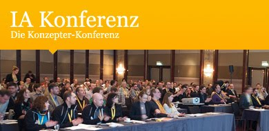 Our other conference: German IA Summit / IA Konferenz