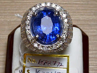 7,72ct NATURAL ROYAL  BLUE SAPPHIRE GD MURMER!