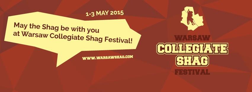 Logo Warsaw Collegiate Shag Festival 2015
