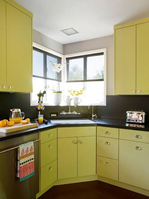 Best decorating ideas Green Kitchen Design Ideas