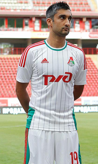 Lokomotiv Moscow Kit Lokomotiv Moscow 14-15 Away