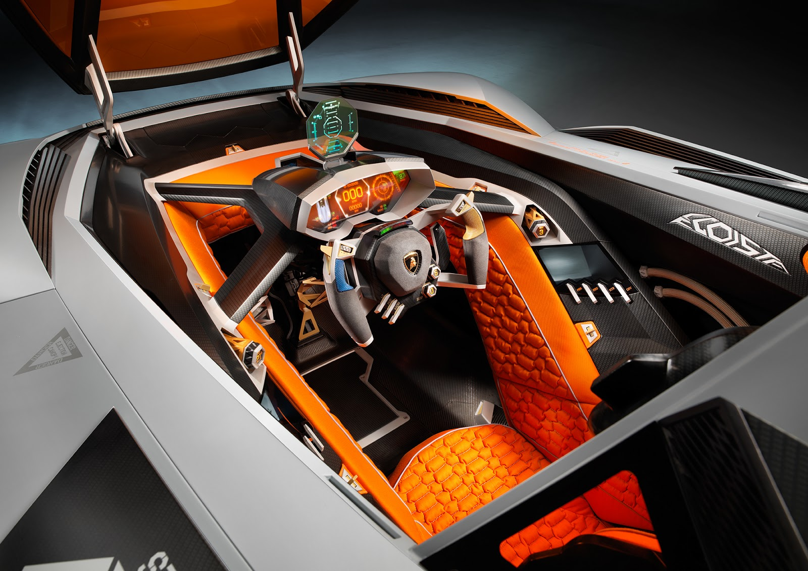 The Cockpitu0027s Interior Is Extremely Rational, Its Functionality Taken To  The Extreme. There Is A Racing Seat With A Four Point Seatbelt, ...