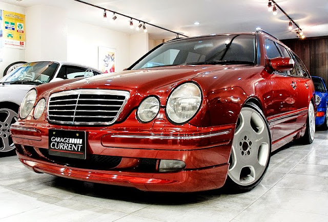 mercedes s210 wald body kit