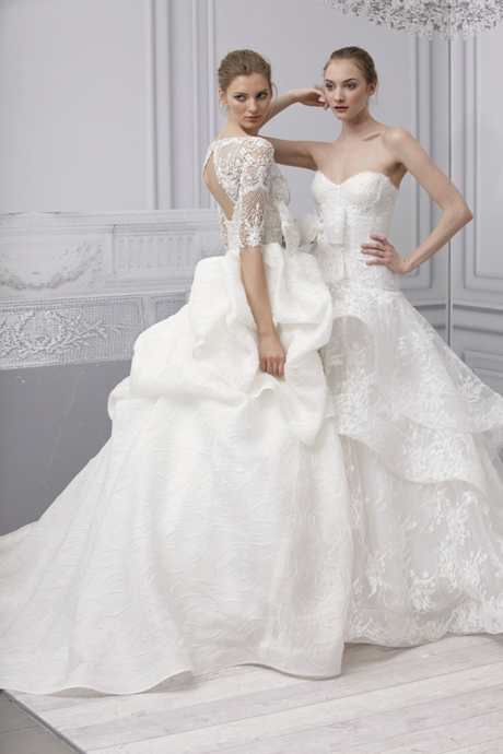 Weddingdressespro Monique Lhuillier Wedding Dress 2013