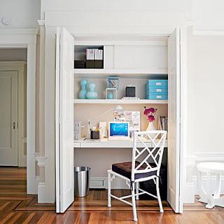 área de estudio en casa
