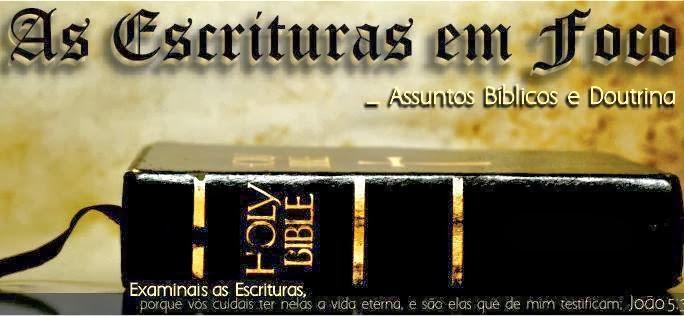 PÁGINA: As Escrituras Em Foco
