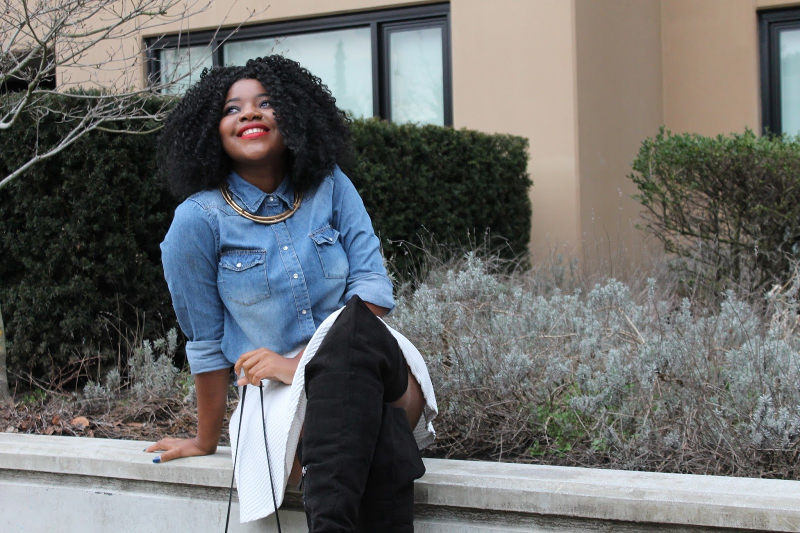 SlimThickDiva*: CURLS x THIGH HIGHs || SPRING READY