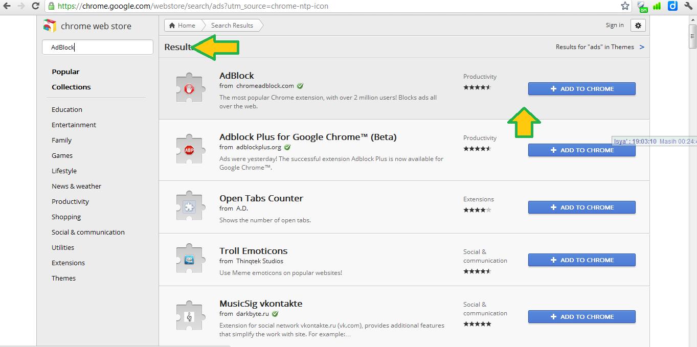 Adblock Chrome Terbaik