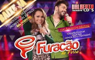 Furacão do forró CD Elétrico Carnaval 2015
