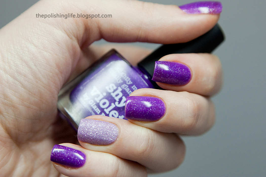 The 31 Day Challenge - Day 6 - Violet Nails