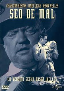 Sed de mal, con Charlton Heston, Janet Leigh y Orson Welles