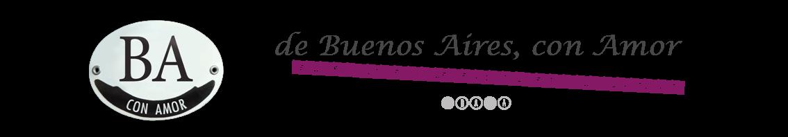 de Buenos Aires, con Amor