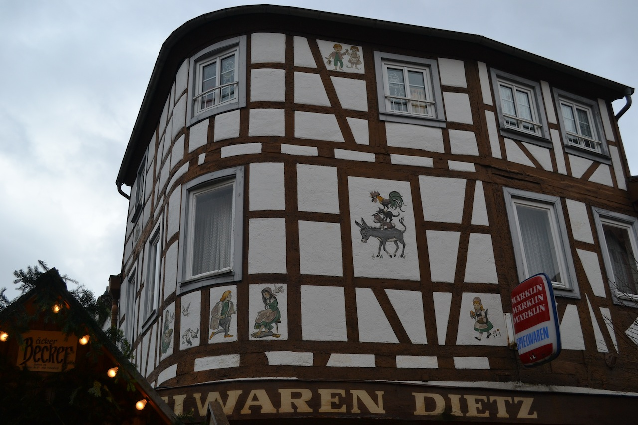 Explorations: Fairy Tale House in Michelstadt