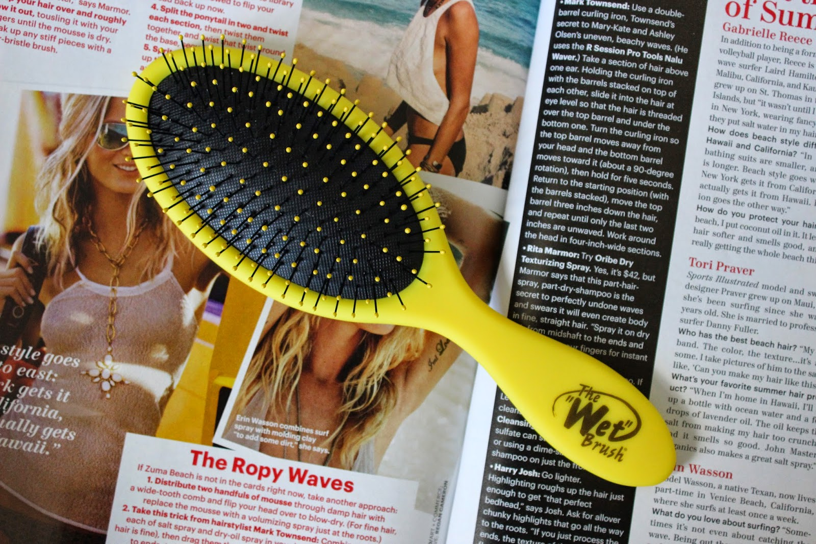 The Wet Brush Review L'amour Josie