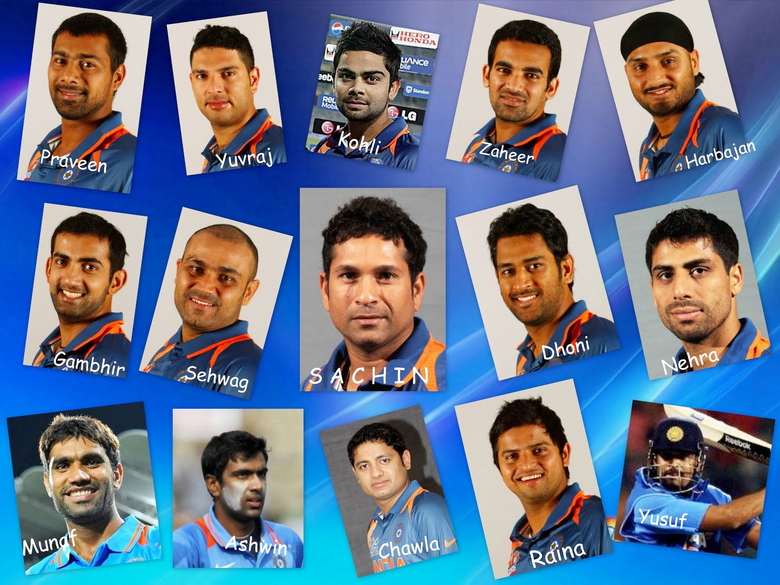 Great Moment of Indian cricket team 2011 World Cup HD Wallpapers ...