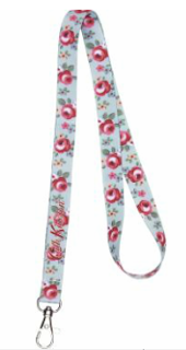 Kensington Rose Lanyard