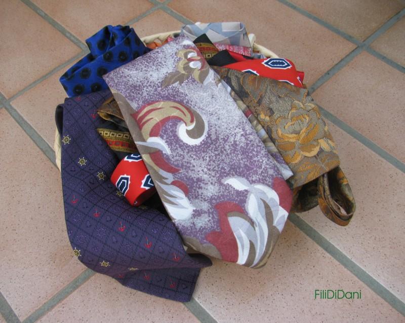 Quello che le mie mani sanno creare cravatte vecchie for Te lo regalo se vieni a prenderlo sito