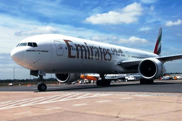 Emirates Boeing 777-300ER. ZonaAero