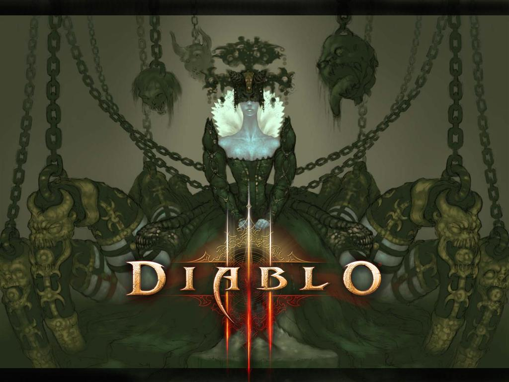 Diablo HD & Widescreen Wallpaper 0.986367877764889
