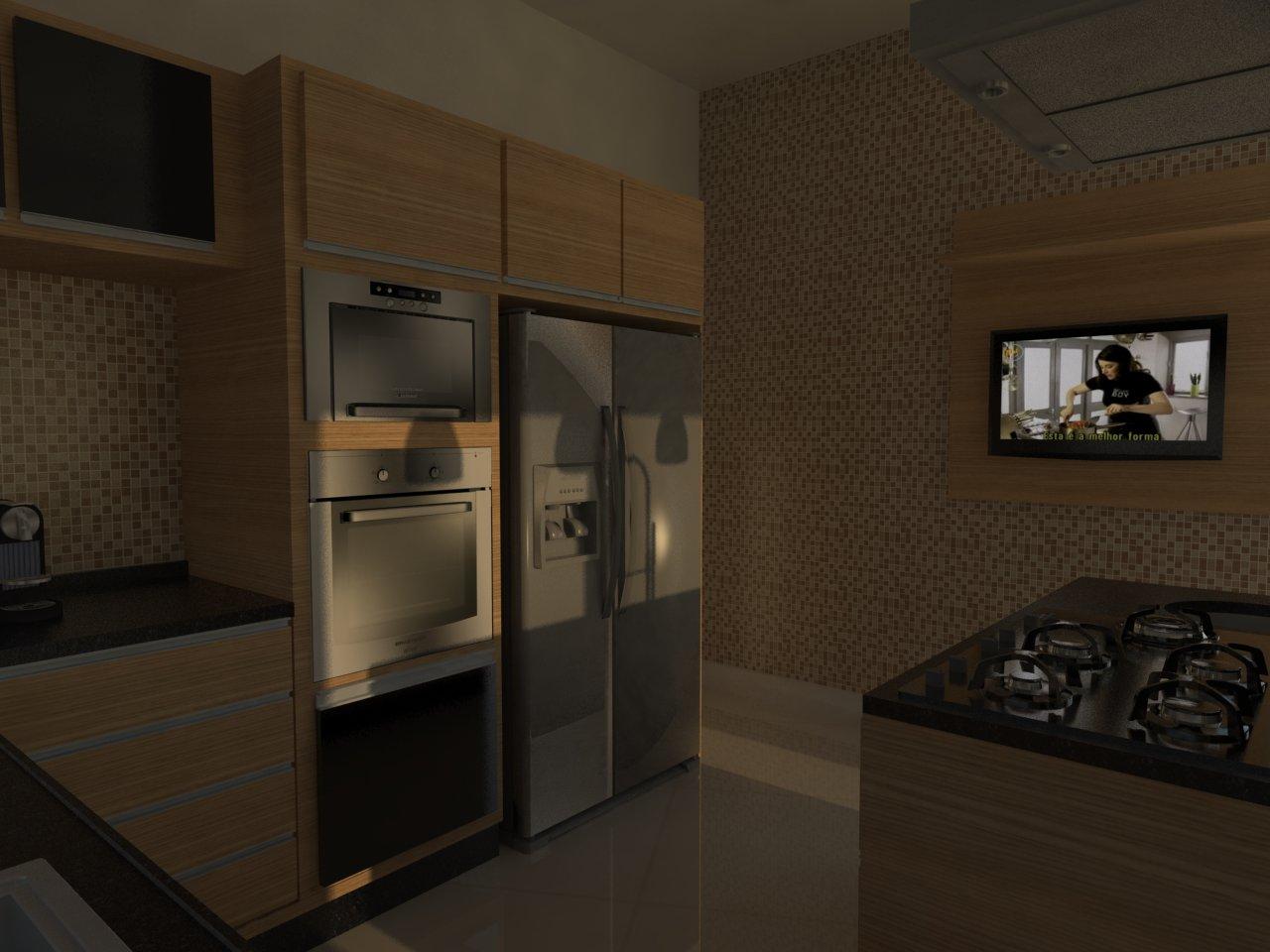#32281C Cozinha Projeto 02 1280x960 px Projete Minha Própria Cozinha_914 Imagens