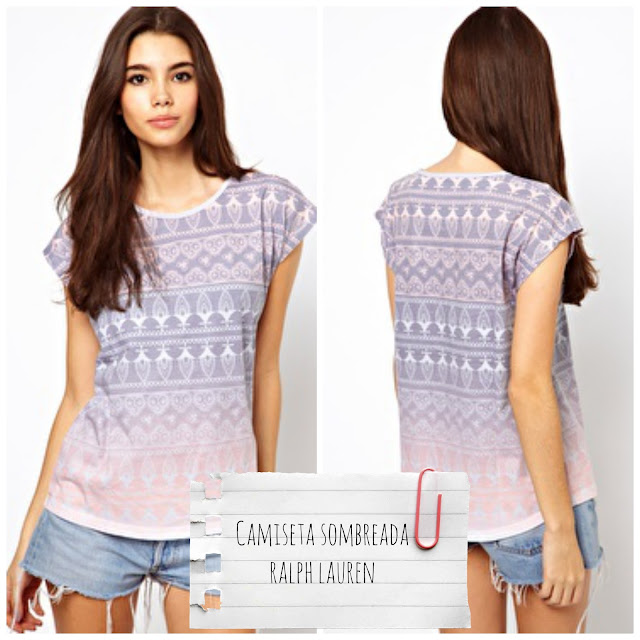 Asos - Camiseta con estampado sombreado de Bellfield. Denim & supply by Ralph Lauren - €23,42 - €16,27