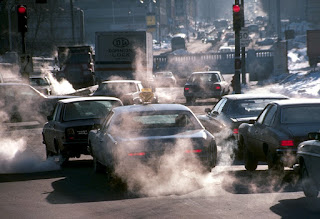 auto que contamina