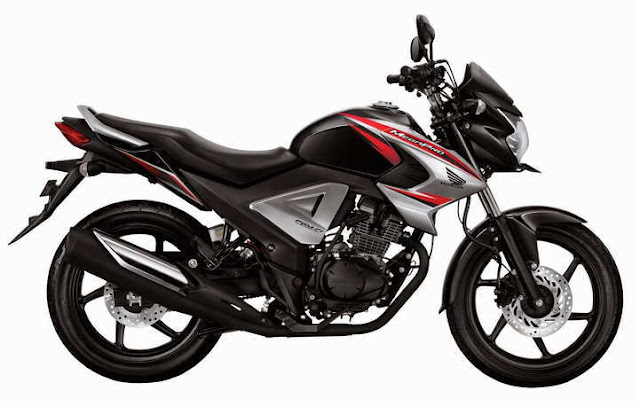 motor New Honda MegaPro FI Brave Black
