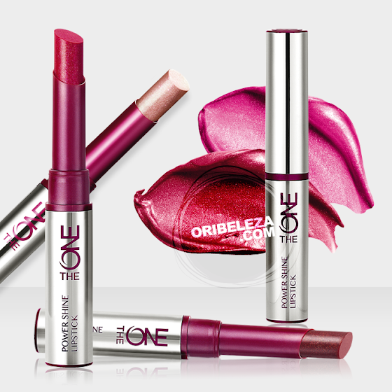 Os Batons Power Shine The ONE da Oriflame