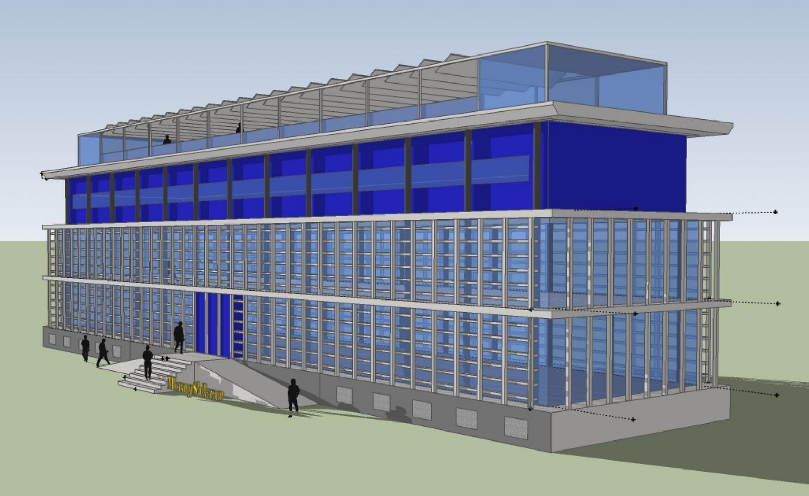Arquisurlauro comercial e industrial dise o de edificio for Diseno de edificios