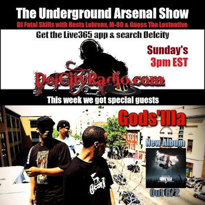 https://www.mixcloud.com/DelCityRadio/the-underground-arsenal-show-with-special-guests-godsilla/