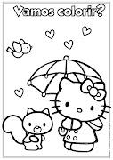 Desenho da Hello Kitty para colorir. Desenho da Hello Kitty para colorir (desenho da hello kitty para colorir ideia criativa lindas imagens )