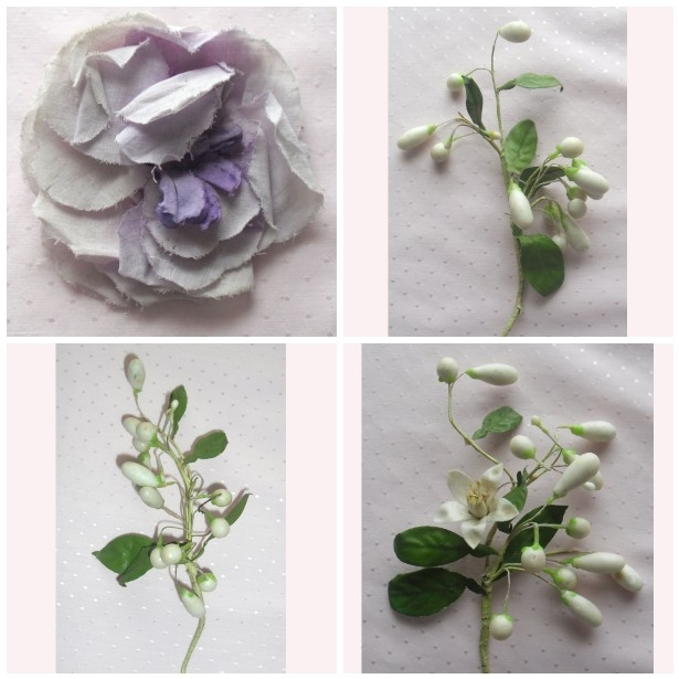 Just Love These Old Waxed Flower Sprays Some Were Made Into Wedding