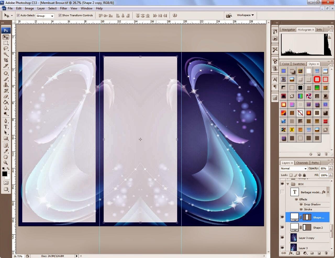 Membuat Brosur dari Adobe Illustrator - Kelas Desain ...