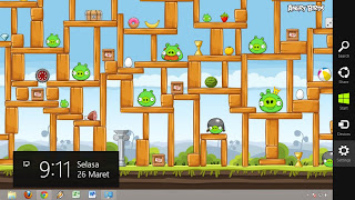 Thema Angry Birds