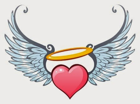 Looking out for the Number 35, when it turned out that the ... Angel Wings Heart Halo