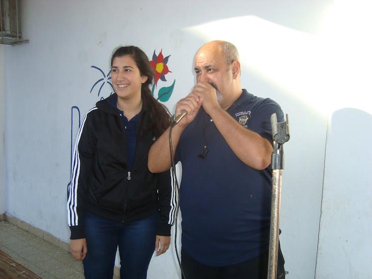"COMIENZO DEL ENCUENTRO "" LEOVINO RAUL MARTINEZ"""