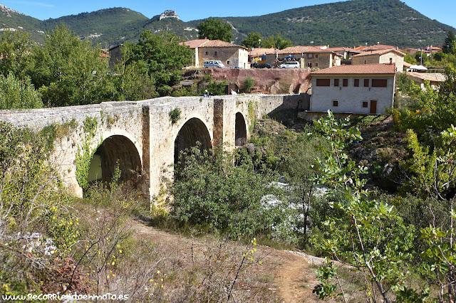 Puente medieval de Pesquera de Ebro