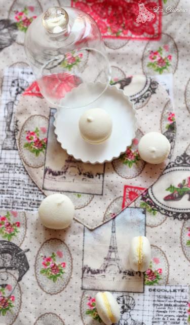 hacer macarons con merengue italiano