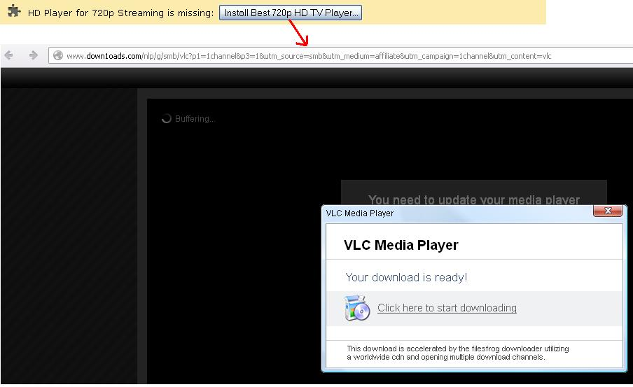 It is all about Safety in IT: HD Player for 720p Stream is Missing
