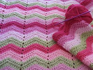 Block Baby Blanket Crochet Pattern | FaveCrafts.com