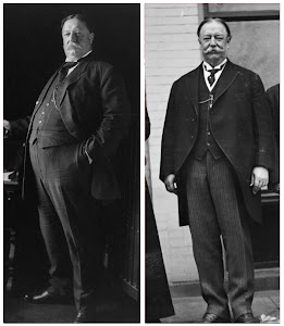 Taft Before and After His Low-Carbohydrate Weight Loss Diet
