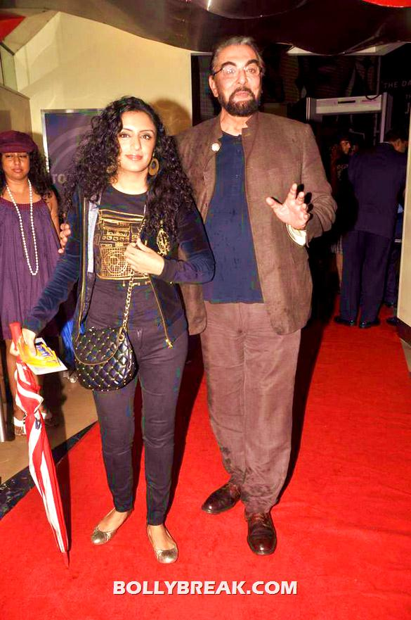 Parveen Dusanj, Kabir Bedi - (27) - Bollywood & TV Celebs at the Premiere of 'The Dark Knight Rises'