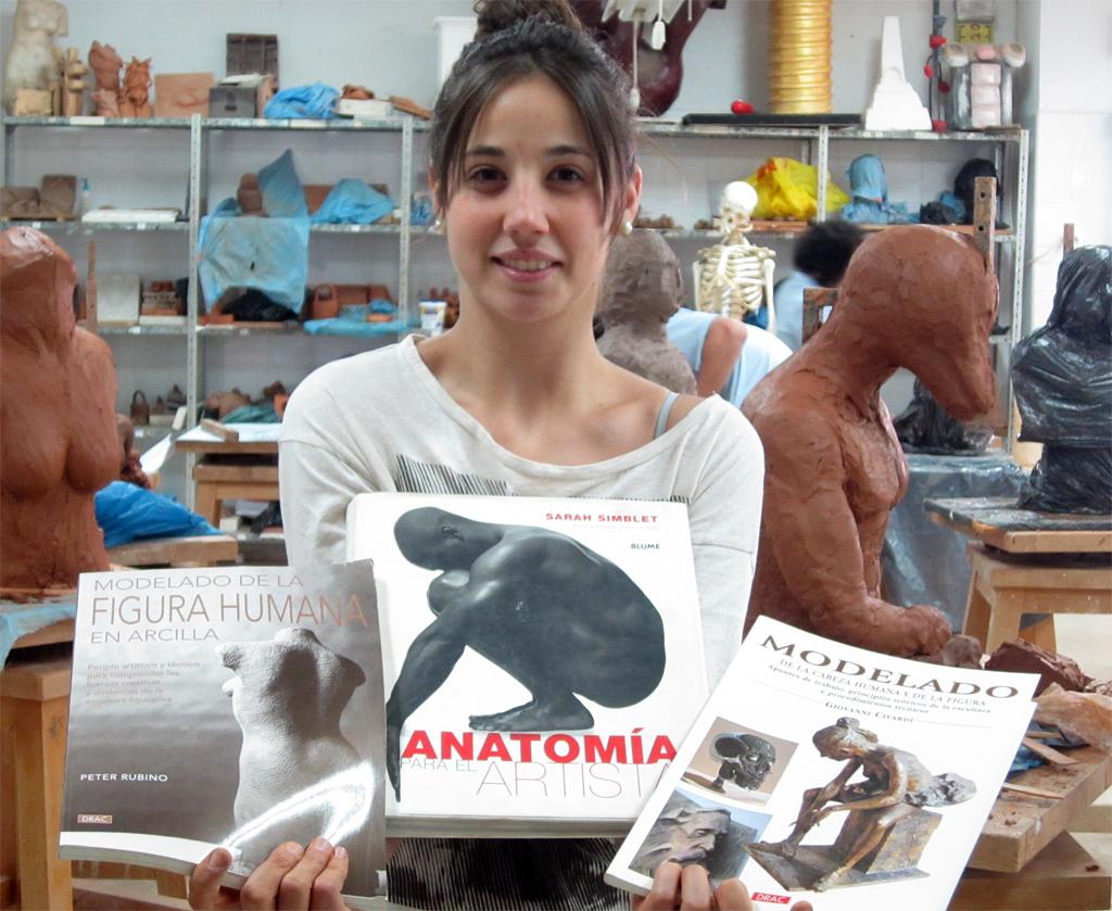 Ciclo Superior de Técnicas escultóricas de Córdoba: Libros recomendados
